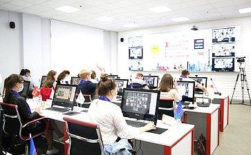 Открытие финального этапа юбилейного X Всероссийского чемпионата покомпьютерному многоборью среди пенсионеров