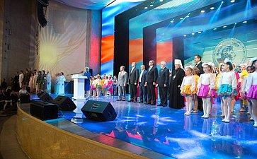 Выступление В. Матвиенко нацеремонии открытия Х Международного фестиваля «Великое русское слово» вКрыму