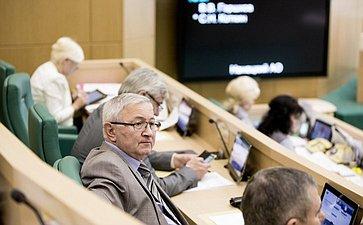 Мухарбек Дидигов на 358 заседании Совета Федерации