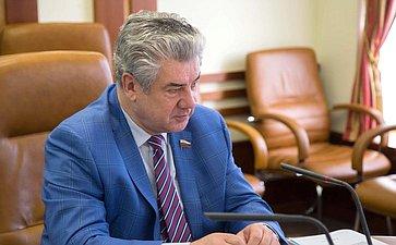 В. Бондарев провел совещание натему «Осанаторно-курортном обеспечении граждан, уволенных своенной службы, ичленов их семей»