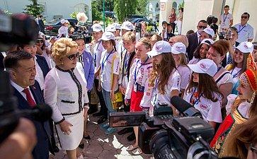 Ознакомление слагерем Международного культурно-образовательного форума стран СНГ «Дети Содружества»