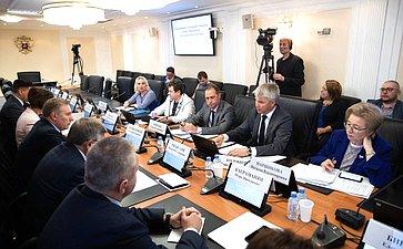 Расширенное заседание Комитета Совета Федерации посоциальной политике сучастием Министра спорта Российской Федерации П.А.Колобкова