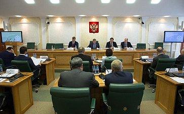 Заседание Экспертного совета потуризму при Комитете СФ посоциальной политике