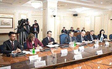 Председатель Комитета СФ помеждународным делам Константин Косачев провел встречу сГенеральным секретарем ОБСЕ Томасом Гремингером