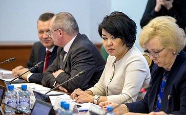 Расширенное заседание Комитета СФ посоциальной политике сучастием представителей Забайкальского края