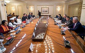 Встреча О. Мельниченко спарламентской делегацией штата Махараштра Республики Индии