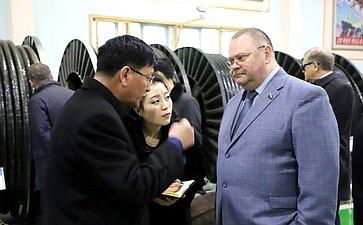 Посещение Пхеньянского завода попроизводству электрокабеля