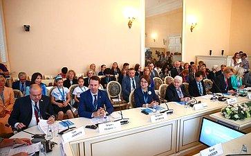 Заседание Международной экспертной сессии «Роль женщин-ученых вусловиях глобальных вызовов современности»