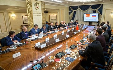 TheFederation Council Committee onForeign Affairs andtheTurkish Parliament's Committee onForeign Affairs hold ajoint meeting