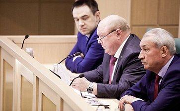 Виктор Лопатников на 358 заседании Совета Федерации