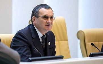 Федоров Николай Васильевич, первый заместитель Председателя СФ