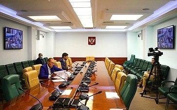 «Круглый стол» натему «Орегулировании отдельных вопросов, связанных собращением лома иотходов цветных металлов вРоссийской Федерации» вформате видеоконференции