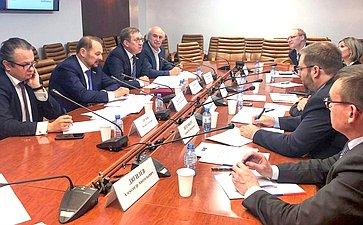 Встреча А. Майорова иС. Белоусова спредставителями Германо-Российского аграрно-политического диалога