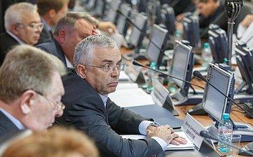 Заседание Комитета Совета Федерации по Регламенту и организации парламентской деятельности Пичугов