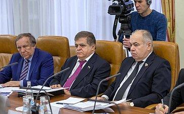 Встреча И.Умаханова сделегацией Прогрессивного арабского фронта