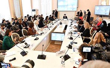 Заседание Международного дискуссионного клуба «Евразийское объединение женщин– региональных лидеров»