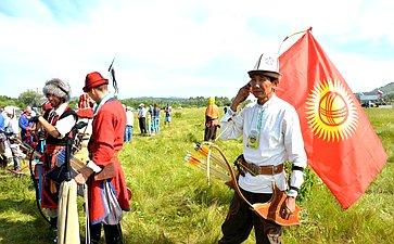 Международный фестиваль конно-верховой стрельбы истрельбы излука «Мэргэн уксы» («Меткий стрелок») вБашкортостане