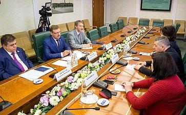 Встреча К. Косачева сделегацией парламентской партии «Альянс патриотов Грузии»