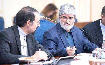 Встреча И. Умаханова спервым заместителем Председателя Собрания исламского совета Исламской Республики Иран Али Мотахари