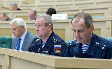 Заседание Совета посоциальной защите военнослужащих, сотрудников правоохранительных органов ичленов их семей при СФ