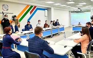 Татьяна Кусайко встретилась сучастниками кадрового проекта «ПолитСтартап»