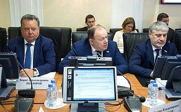 Борис Невзоров, Владимир Лаптев иСулейман Геремеев