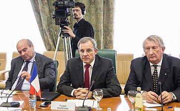 Встреча сенаторов сделегацией Национального собрания Французской Республики