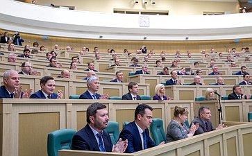 Встреча сенаторов сделегатами съезда Национальной ассоциации развития местного самоуправления