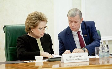 Заседание Совета при Председателе СФ повопросам агропромышленного комплекса иприродопользования