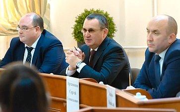 Николай Федоров входе рабочей поездки врегион посетил Чувашскую государственную сельскохозяйственную академию