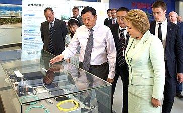 Экспозиция высокотехнологичной продукции