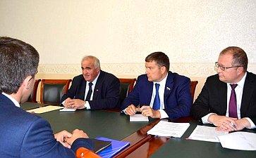 Сергей Ситников иНиколай Журавлев провели ряд встреч