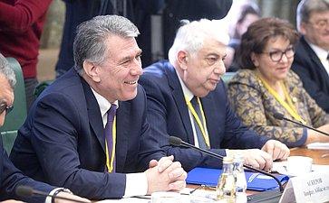 Встреча К. Косачева снаблюдателями отМПА СНГ