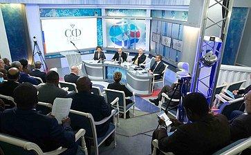 Встреча сглавами дипломатических представительств государств Африки, аккредитованных вМоскве