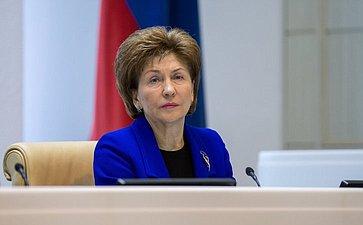 Карелова Галина Никорлаевна, заместитель Председателя СФ