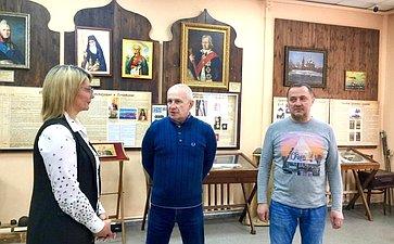 Наталия Косихина посетила Рыбинский музей адмирала Ф.Ф.Ушакова