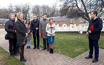 Сергей Леонов почтил память малолетних узников концлагерей