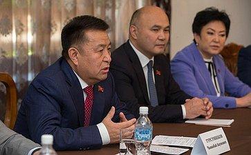 Председатель Жогорку Кенеша Киргизской Республики Турсунбеков Чыныбай Акунович