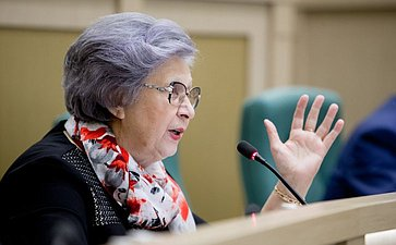 Горячева 380-е заседание Совета Федерации
