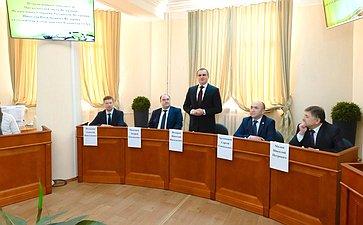 Николай Федоров посетил Чувашскую государственную сельскохозяйственную академию