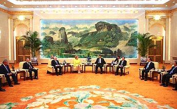 Официальный визит делегации Совета Федерации вКитайскую Народную Республику