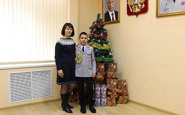 Сергей Аренин принял участие воВсероссийской благотворительной акции «Елка желаний»