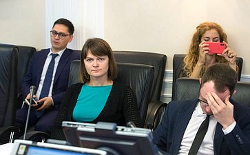 Расширенное заседание Комитета СФ понауке, образованию икультуре сучастием представителей органов власти Калининградской области