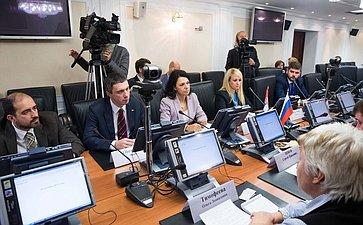 Встреча О. Тимофеевой иС. Цекова собщественно-политическими деятелями Сербии