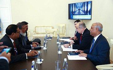 Встреча И. Умаханова сделегацией Бангладеш