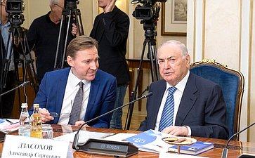 Заседание правления Интеграционного клуба при Председателе Совета Федерации