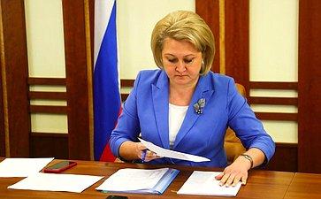 Л. Гумерова провела заседание рабочей группы поорганизации бесплатного питания для обучающихся