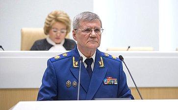 Генпрокурор РФ Ю. Чайка