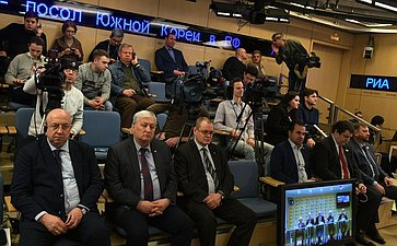 Видеоконференции между Москвой иБелградом натему «20-летие содня незаконной военной интервенции стран-членов НАТО всуверенную Югославию»