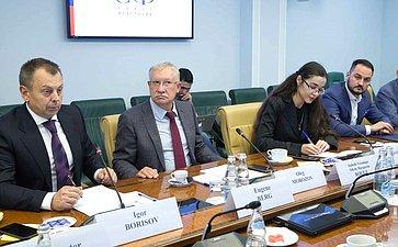 Встреча О. Морозова сделегацией международных экспертов вобласти избирательного процесса